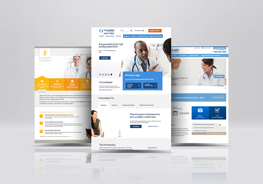 Healthcare Web Design Examples